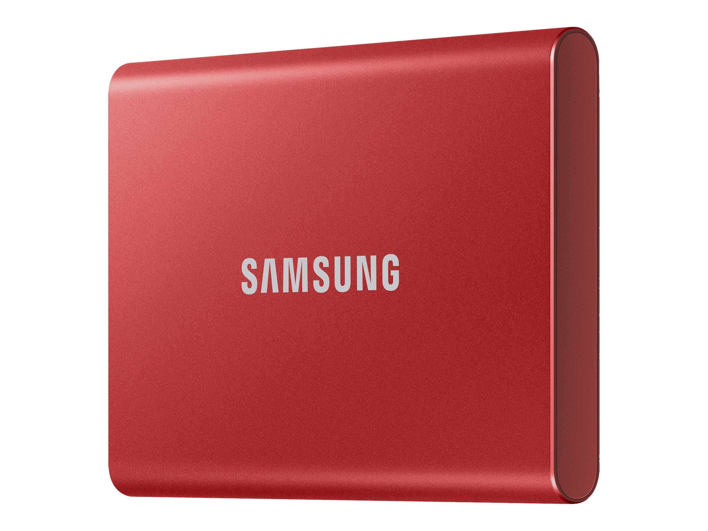 Vorschau: Samsung Portable SSD T7 MU-PC500R - 500 GB SSD - extern (tragbar)