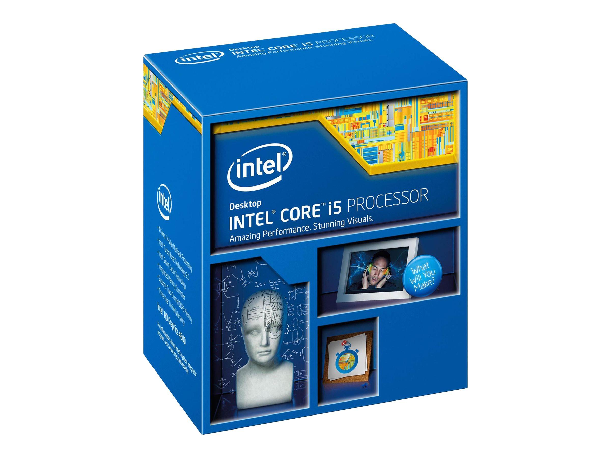 Intel Core i5 4460 - 3.2 GHz - 4 Kerne