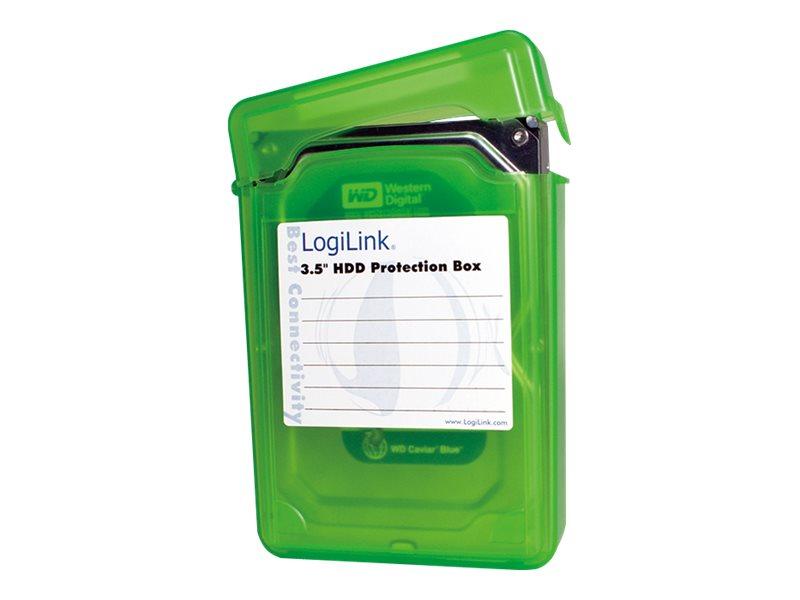"""LogiLink Festplattenlaufwerk-Schutzgehäuse - Kapazität: 1 Festplattenlaufwerk (3,5"""")"""