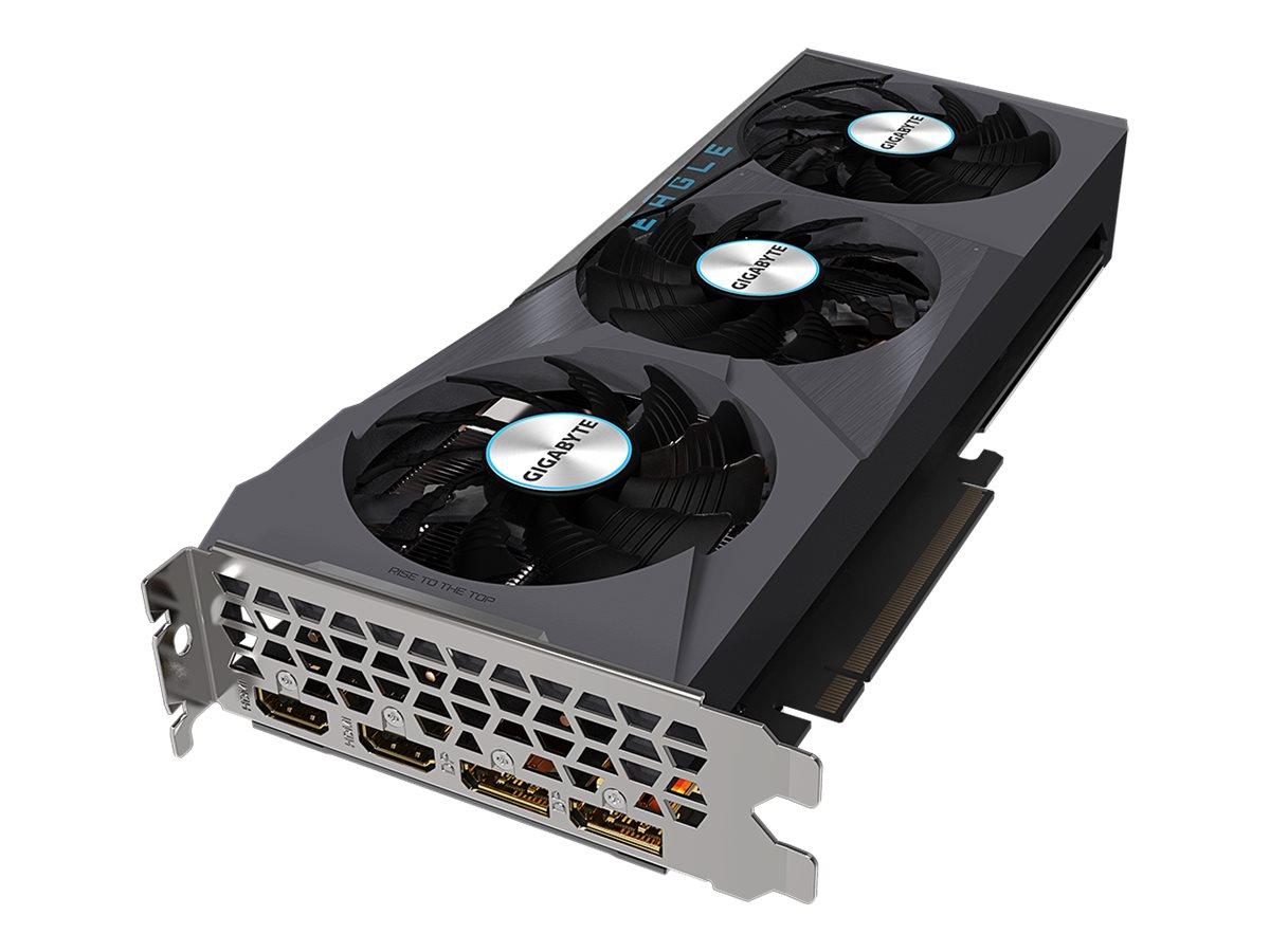 Vorschau: Gigabyte Radeon RX 6700 XT EAGLE 12G - Grafikkarten