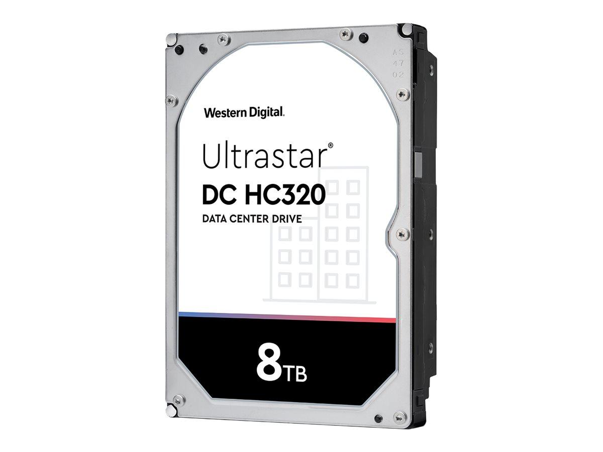 "WD Ultrastar DC HC320 HUS728T8TALE6L1 - Festplatte - verschlüsselt - 8 TB - intern - 3.5"" (8.9 cm)"