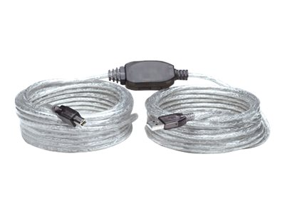 Manhattan USB-A to USB-B Cable, 11m, Male to Male, Active, 480 Mbps (USB 2.0)