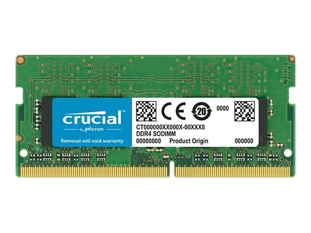 Crucial DDR4 - 16 GB - SO DIMM 260-PIN - 2666 MHz / PC4-21300