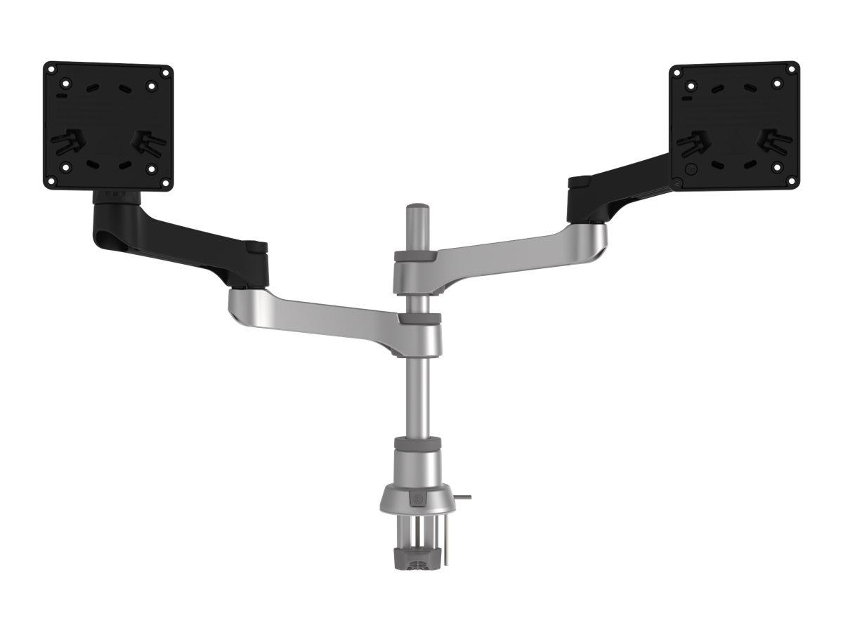 R-Go Zepher 4 - Befestigungskit für 2 LCD-Displays (einstellbarer Arm)