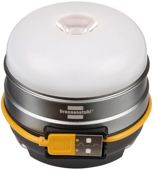 Brennenstuhl OLI 0300 - Schwarz - Weiß - Kunststoff - IP20 - IP44 - Camping - 70 h - 350 lm