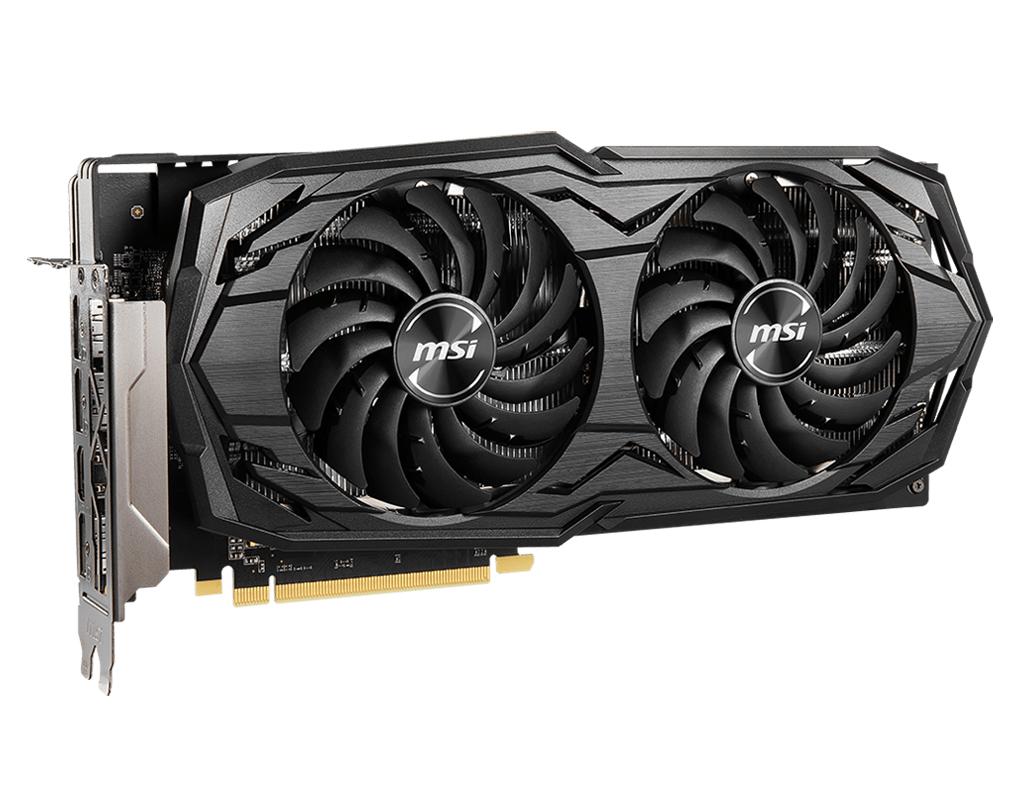 MSI Radeon RX 5600 XT GAMING MX  Radeon RX 5600 XT  6 GB  GDDR6  192 bit  7680 x 4320 pixels  PCI Express x16 4.0