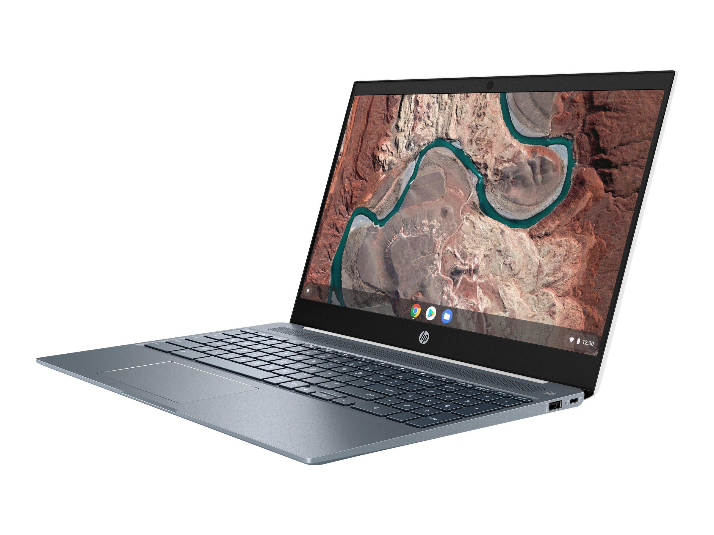 """HP Chromebook 15-de0000ng - Pentium Gold 4417U / 2.3 GHz - Chrome OS - 4 GB RAM - 64 GB eMMC - 39.6 cm (15.6"""")"""