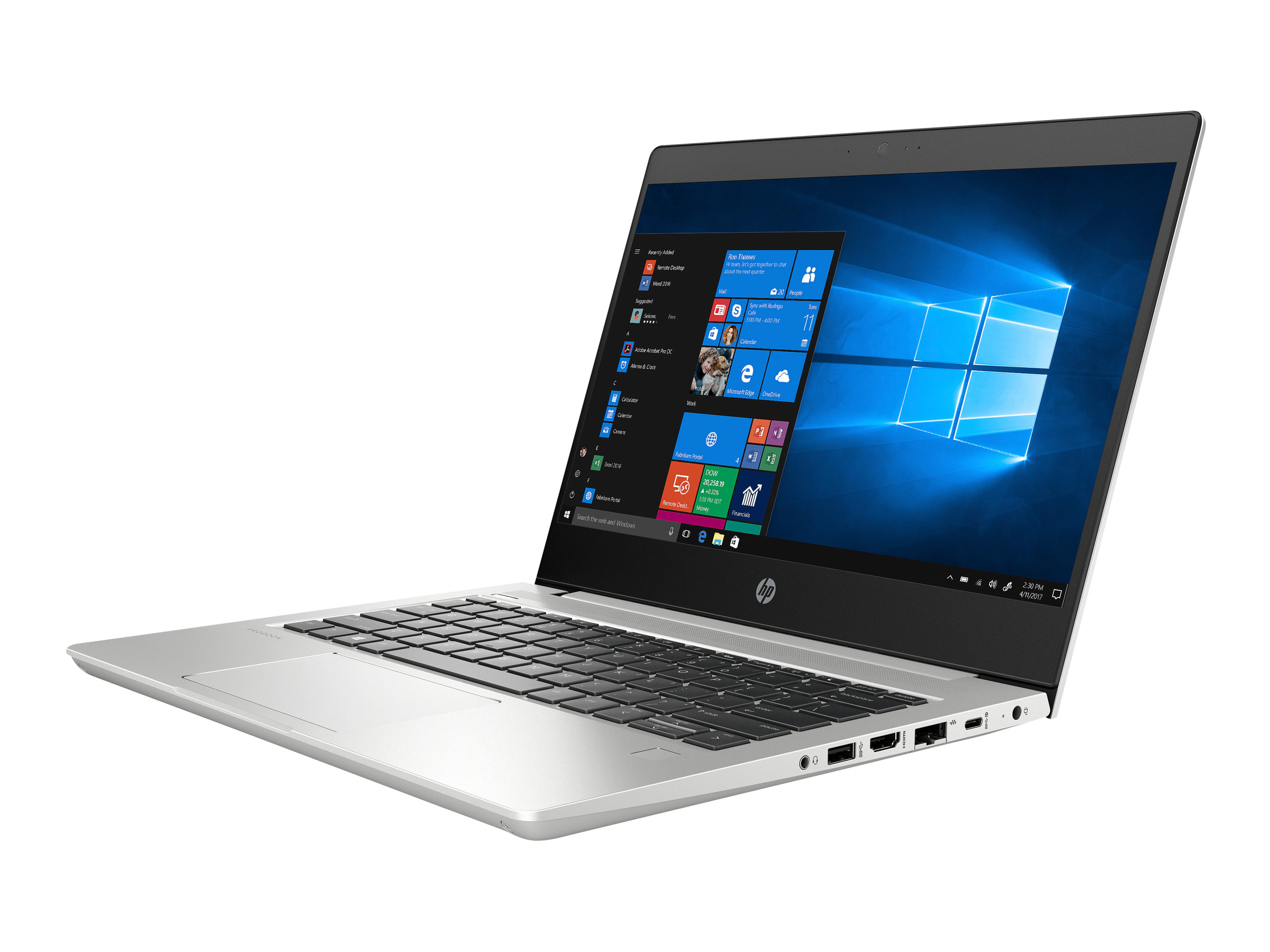 "HP ProBook 430 G6 - Core i5 8265U / 1.6 GHz - Win 10 Pro 64-Bit - 8 GB RAM - 256 GB SSD NVMe, HP Value - 33.8 cm (13.3"")"