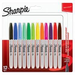 Sharpie Marker Fein Rundspitze F 12er Pastel Farben