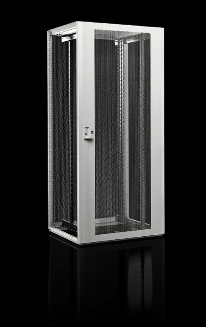 Vorschau: Rittal Network TX - Freistehendes Gestell - 42U - Sperrschloss - Verbessertes Kabelmanagement - Weiß