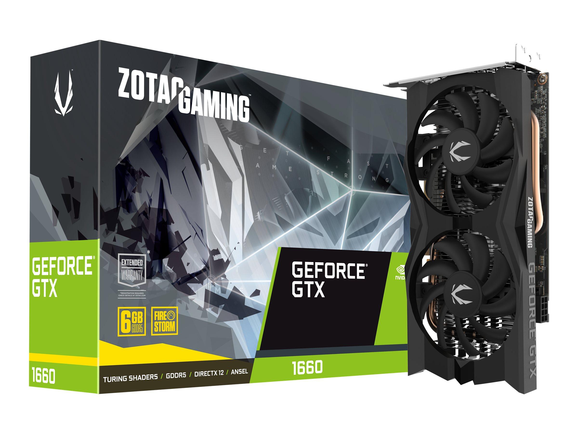 ZOTAC GAMING GeForce GTX 1660 Twin Fan - Grafikkarten