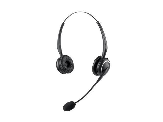 GN Netcom GN9120 DUO Binaural Kopfband Schwarz Headset