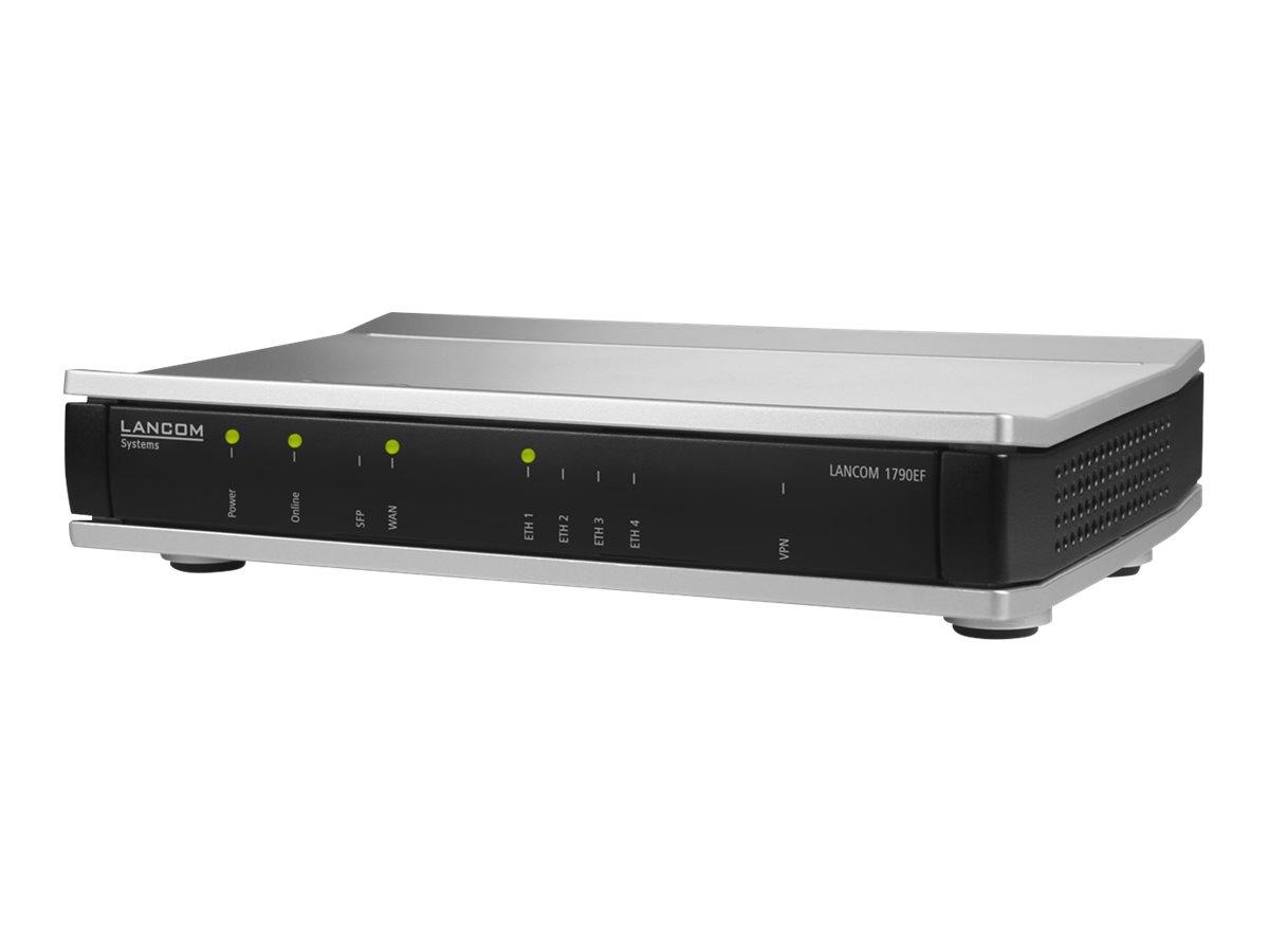 Lancom 1790EF - Router - 4-Port-Switch - GigE