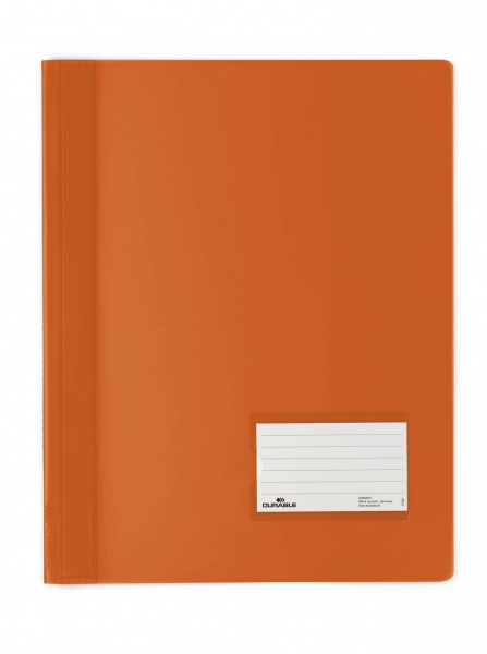 Durable Document Folder - PVC - Orange - 57 x 90 mm - 1 Stück(e)