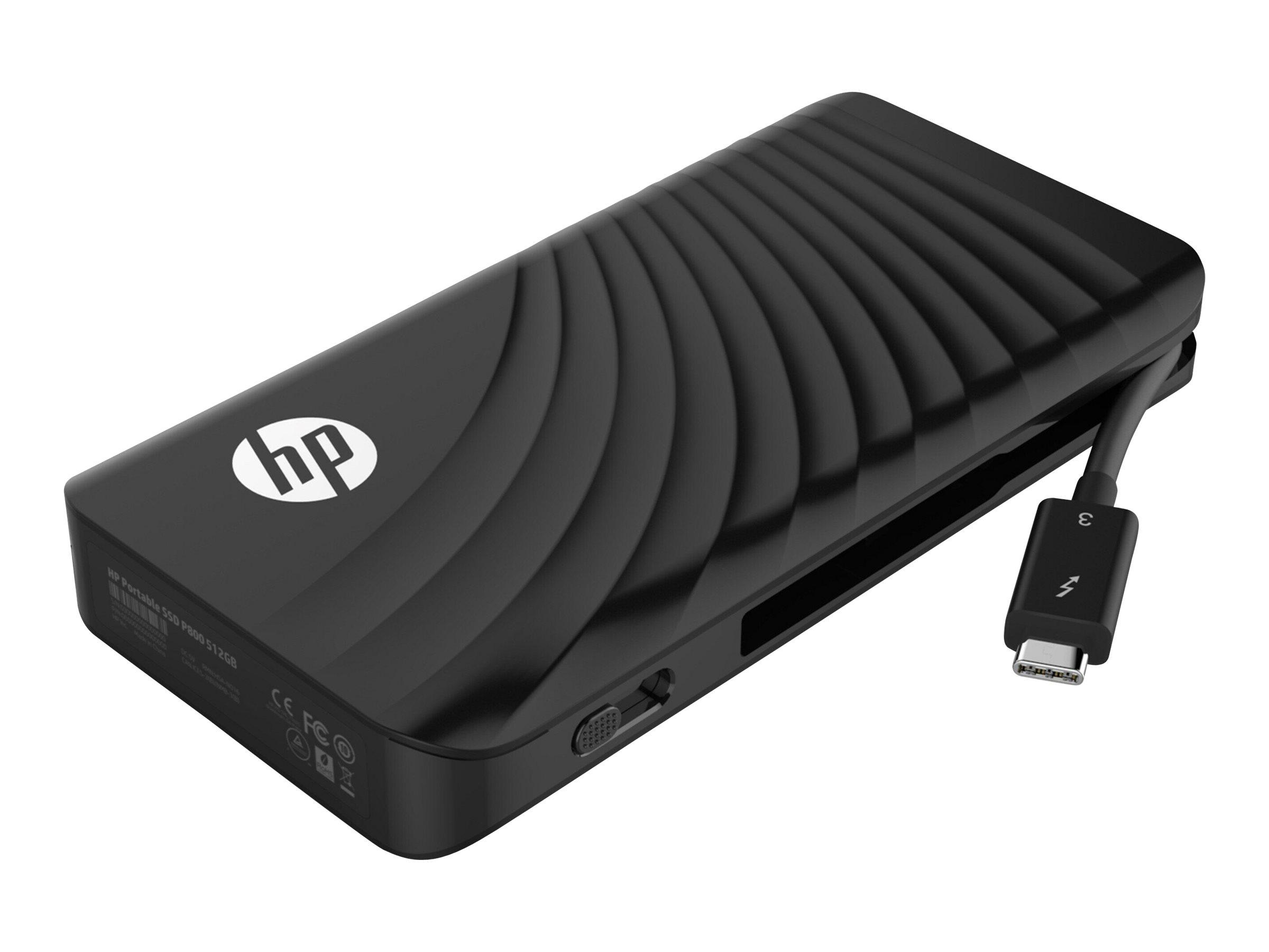 HP P800 - 512 GB SSD - extern (tragbar)