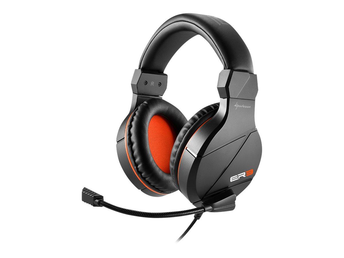 Sharkoon Rush ER3 - Headset - ohrumschließend - Kabelgebunden - 3,5 mm Klinke
