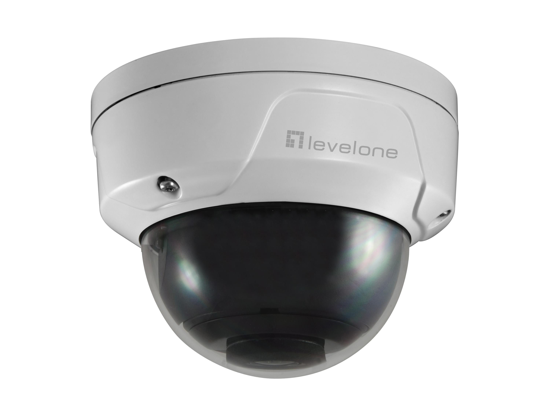 LevelOne FCS-3090 - IP-Sicherheitskamera - Innen & Außen - Verkabelt - CF - FCC - Kuppel - Zimmerdecke