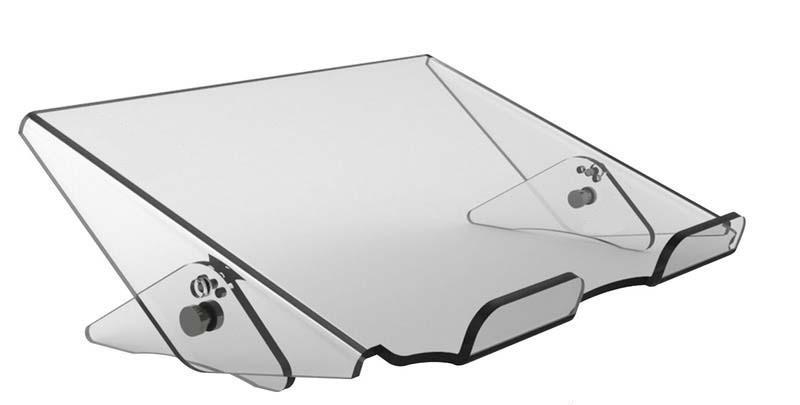 Spire CG-OX-614217 - Notebook-Ständer - Transparent - 39,1 cm (15.4 Zoll) - 0 - 40 °C - 300 mm - 235 mm