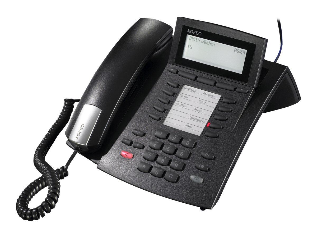 AGFEO ST 42 - ISDN-Telefon - Schwarz