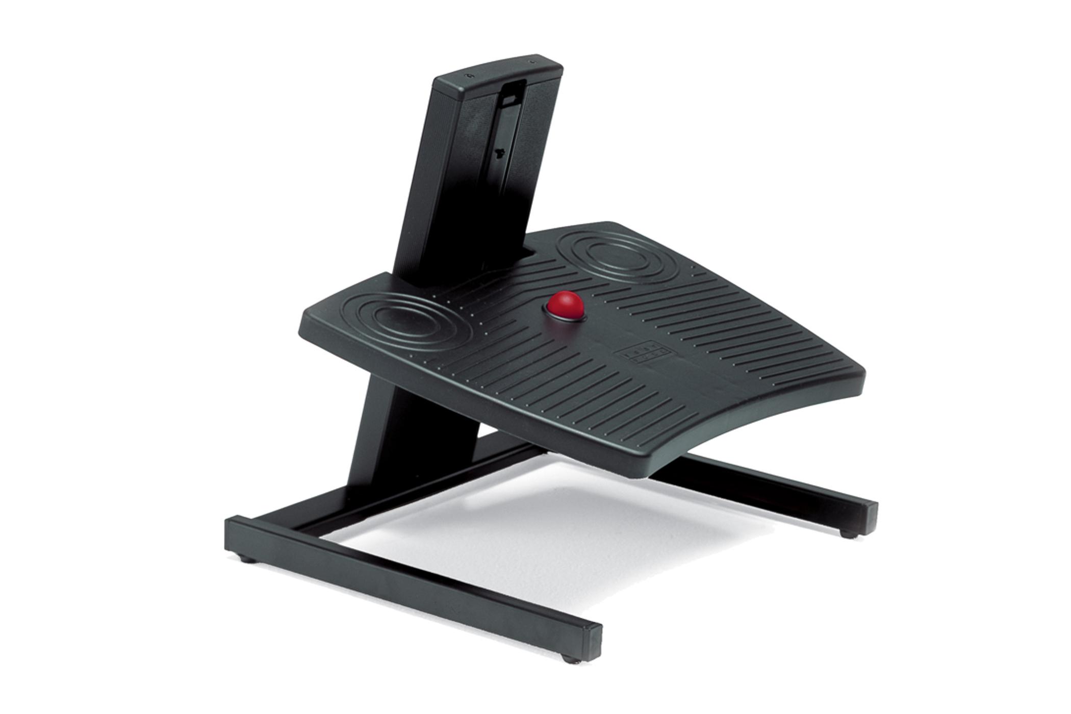 Bakker Footform Dual Footrest - Schwarz - 450 mm - 390 mm - 4 cm - 30 cm - 6,5 kg