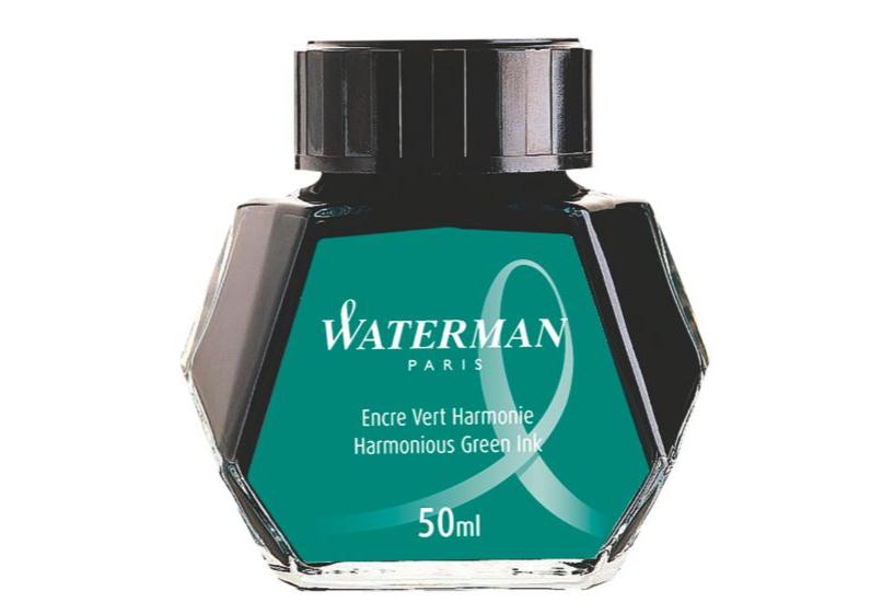 WATERMAN S0110770 - Grün - Schwarz - Transparent - Füllfederhalter - 50 ml - 1 Stück(e)