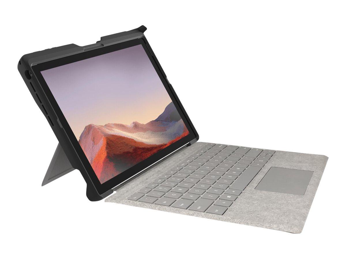 Kensington BlackBelt 2nd Degree Rugged Case for Surface Pro 7, 6, 5, & 4 - Hintere Abdeckung für Tablet - widerstandsfähig - für Microsoft Surface Pro (Mitte 2017)