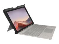 BlackBelt 2nd Degree Rugged Case for Surface Pro 7, 6, 5, & 4 - Hintere Abdeckung für Tablet - widerstandsfähig
