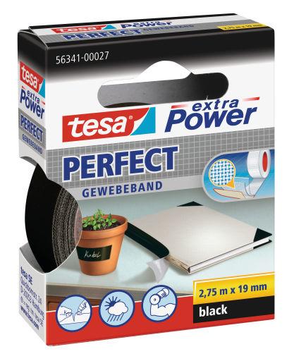 Tesa Extra Power 19mmx2.75m - 2,75 m - Schwarz - 19 mm - 1 Stück(e)