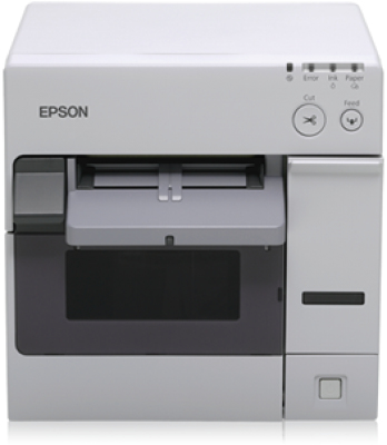 Epson TM-C3400 (032CD): LAN - NiceLabel CD - ECW