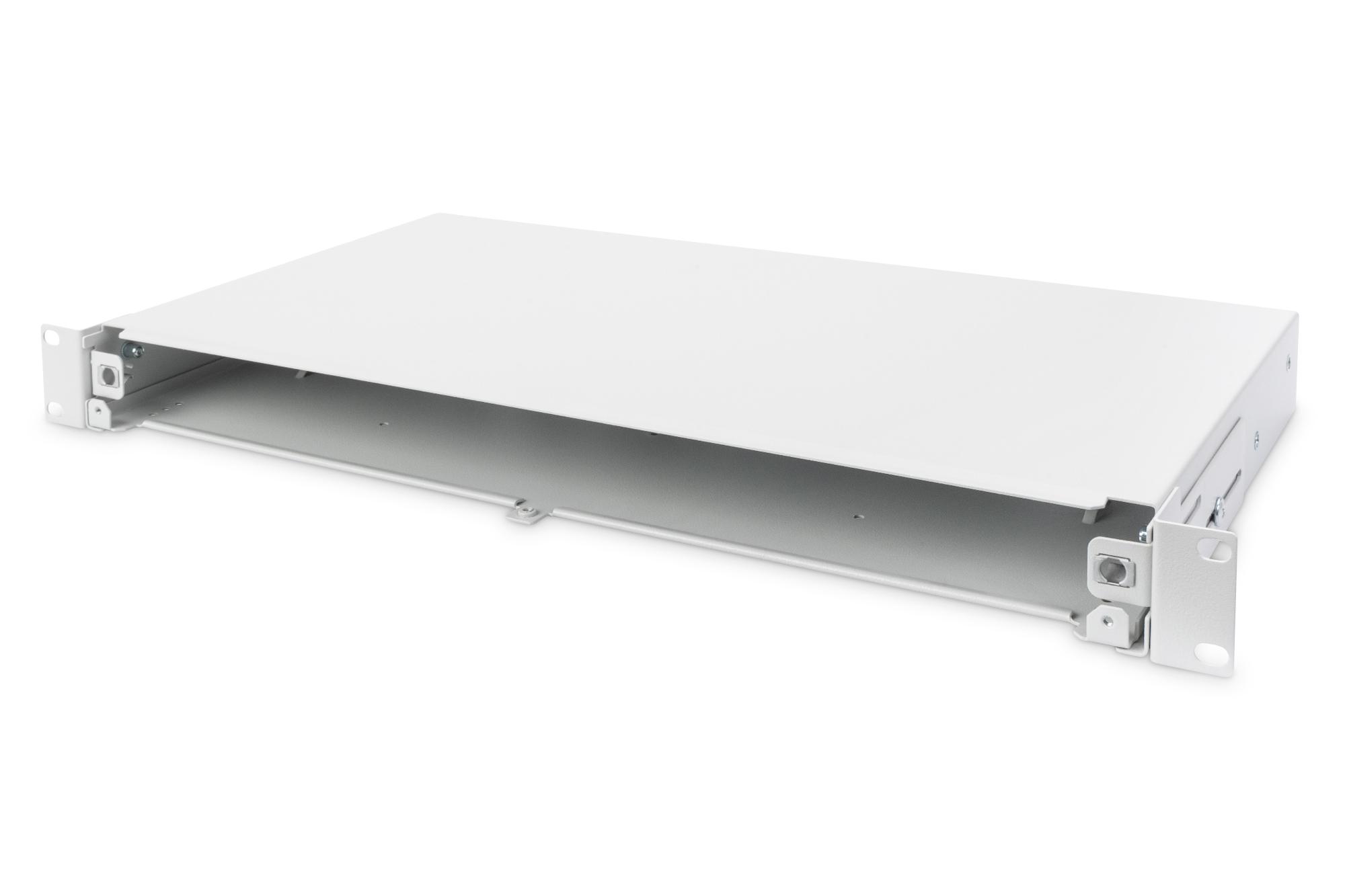 DIGITUS Fiber Optic Splice Box, extendible, quick lock