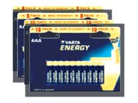 Varta Energy 4103 - Batterie 10 x AAA-Typ - Alkalisch