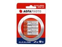 AgfaPhoto Batterie 4 x AA-Typ - Alkalisch