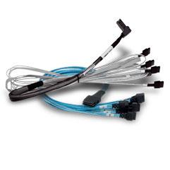 BROADCOM U.2 Enabler - Internes SAS-Kabel - 4x Mini SAS HD (SFF-8643)