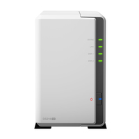 DS216se NAS Desktop Eingebauter Ethernet-Anschluss Weiß