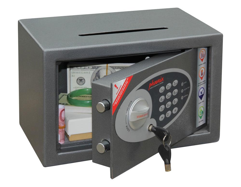 Phoenix Safe Phoenix Einbruchschutztresor SS0801ED Vela Home Office