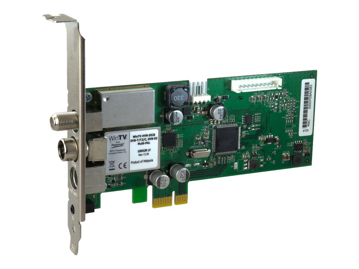 Hauppauge WinTV HVR-5525 - Digitaler/analoger TV-Empfänger/Radioempfänger/Videoaufnahmeadapter