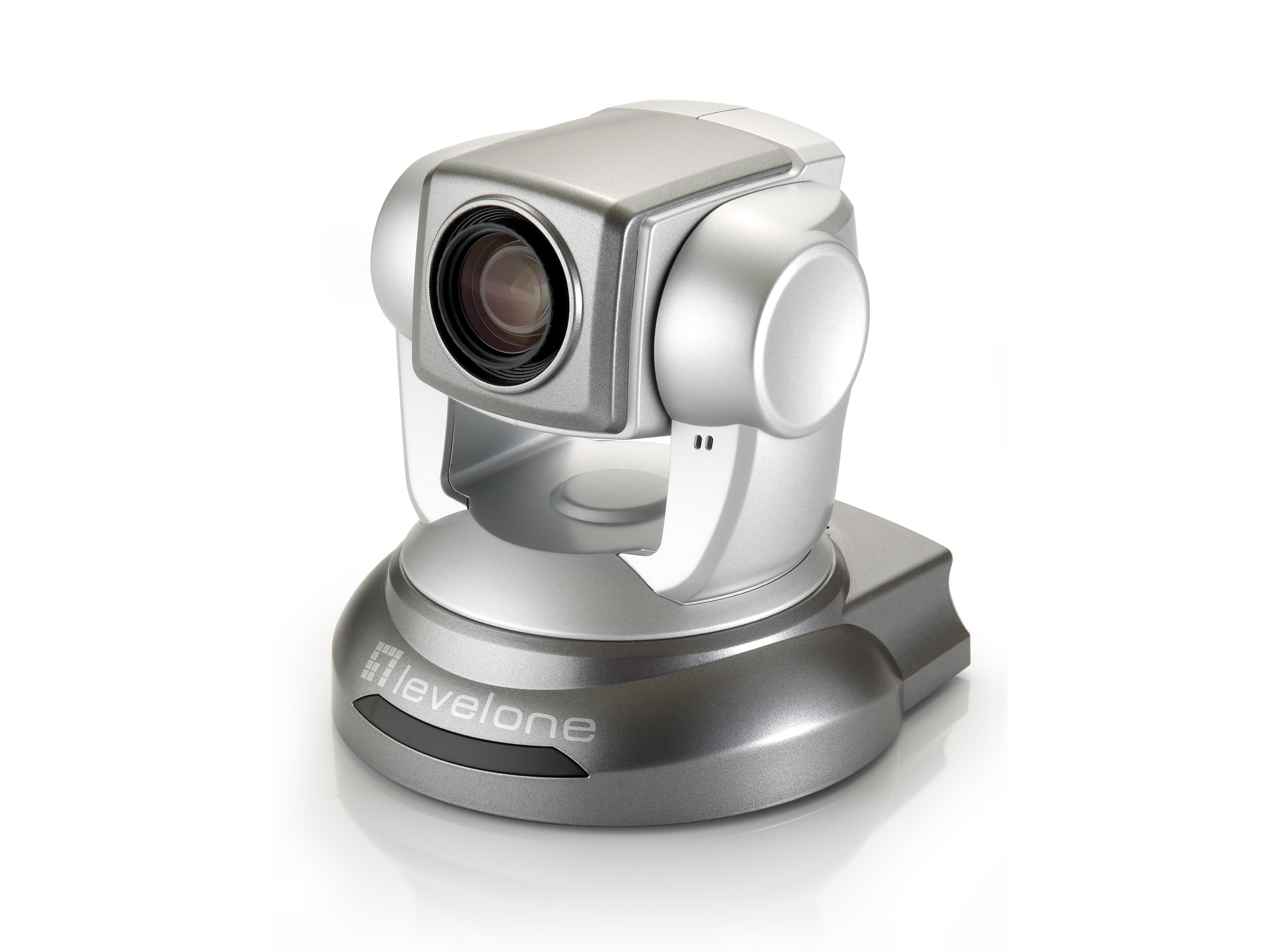LevelOne PTZ-Netzwerkkamera - 2 Megapixel - 802.3af PoE - WDR - 10fachen Optischen Zoom