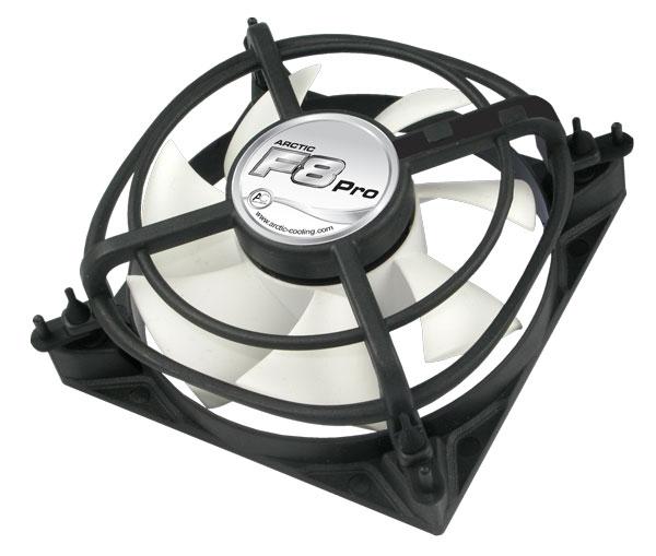 Arctic F8 Pro Gehäuse-Lüfter - 80 mm 2.000 rpm 26 dB