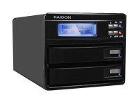 RAIDON GearRAID GR3630-2S-WBS2 - Festplatten-Array - 2 Schächte (SATA-300)