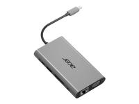 10-In-1 Type-C Dongle - Port Replicator - USB-C