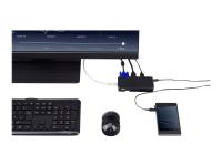 USB 3.0 Dual Video Travel Docking Station - Retail - Docking Station