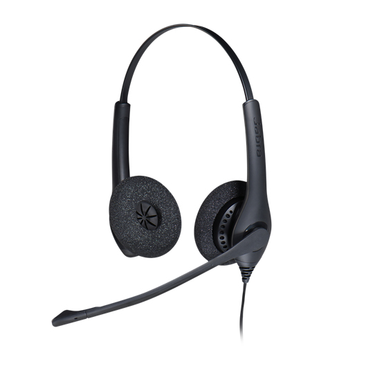 Jabra BIZ 1500 Duo - Headset - On-Ear