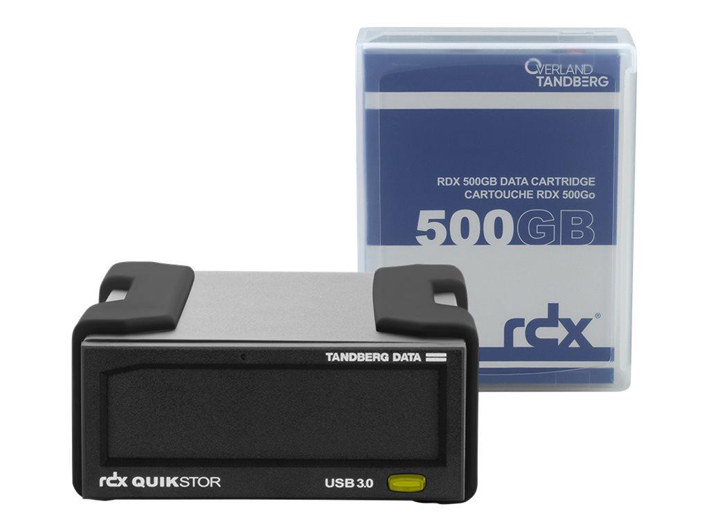 Overland-Tandberg RDX QuikStor - Laufwerk - RDX