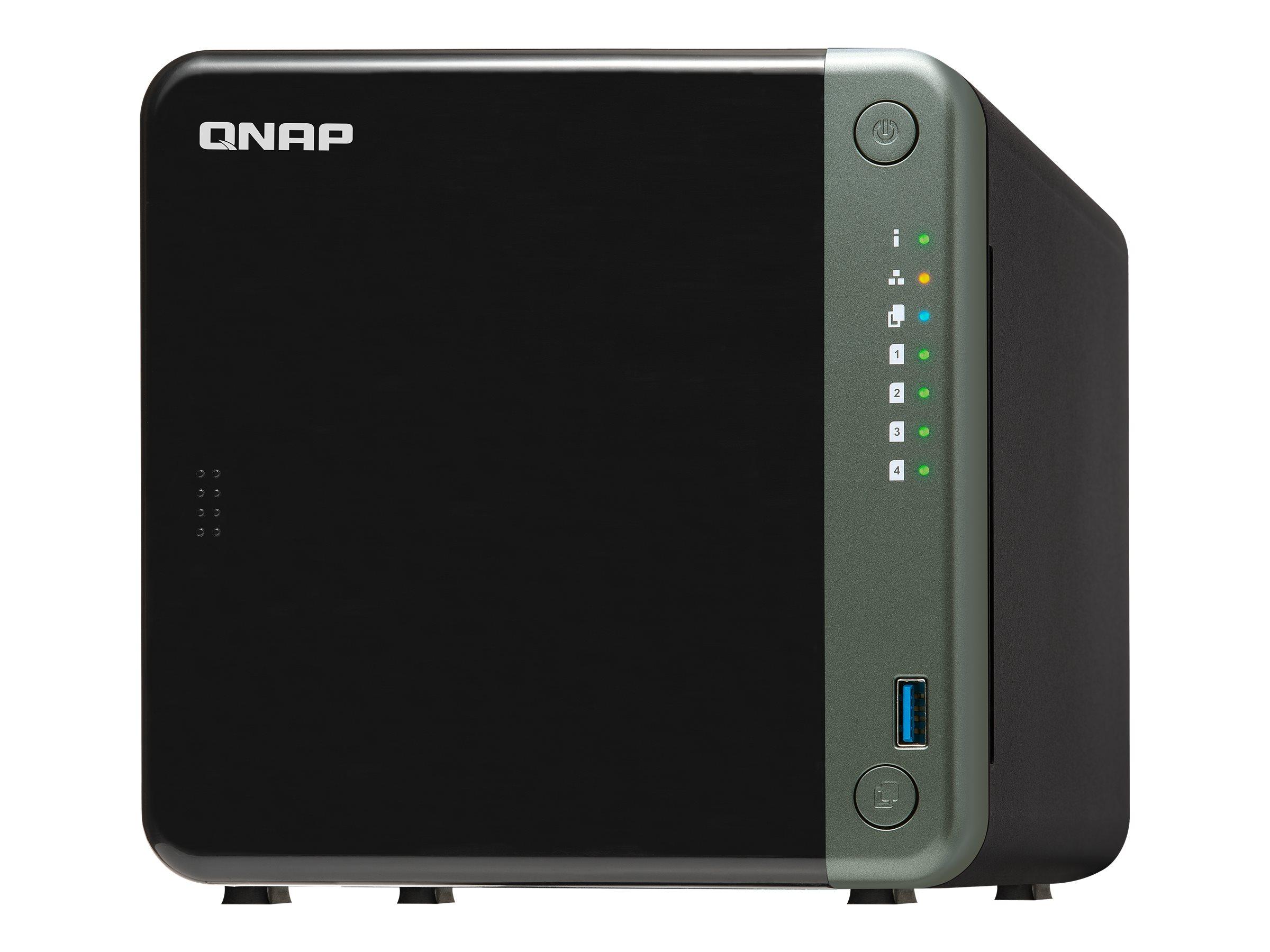 QNAP TS-453D - NAS-Server - 4 Schächte - SATA 6Gb/s