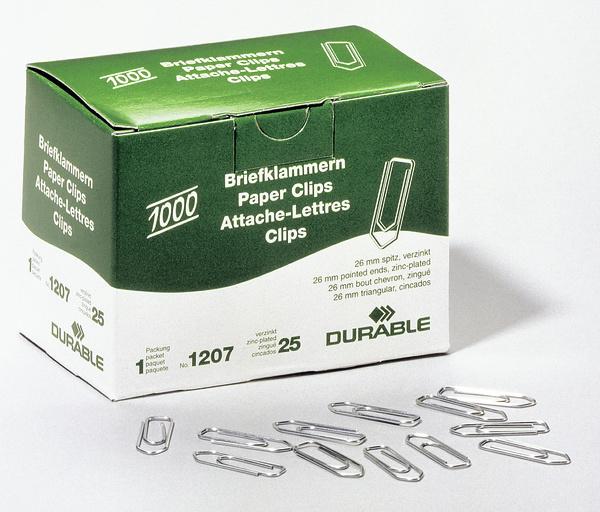 Durable 1207-25 - Silber - 1000 Stück(e)