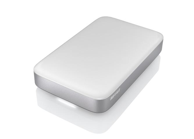 Buffalo MiniStation Thunderbolt 2.0TB 2000GB Silber - Weiß Externe Festplatte