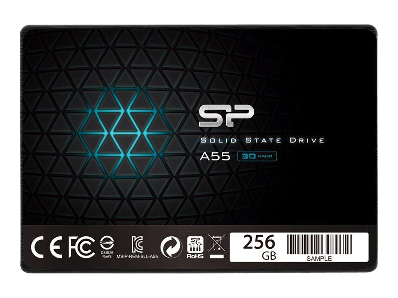 """Silicon Power A55 - 256 GB SSD - intern - 2.5"""" (6.4 cm)"""