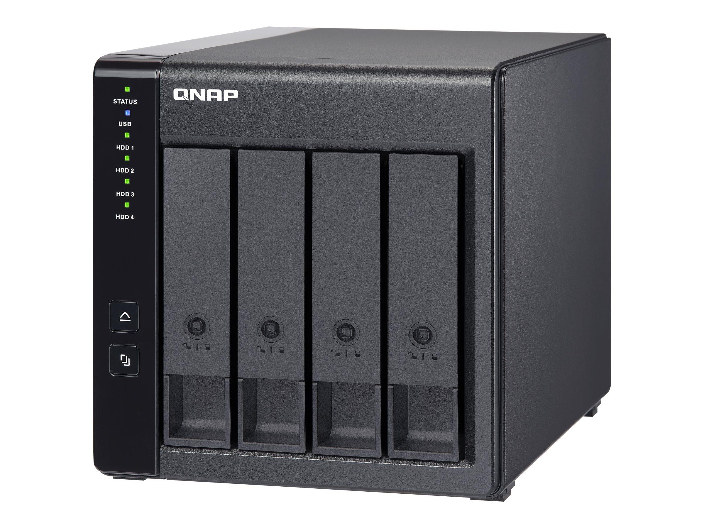 QNAP TR-004 - Festplatten-Array - 0 TB - 4 Sch?chte (SATA-300)