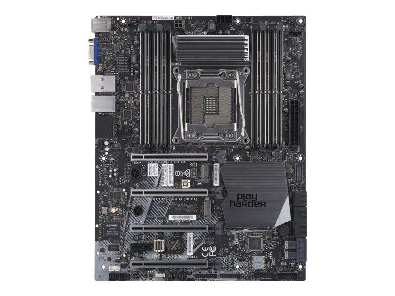 Supermicro C9X299-RPGF - Motherboard - ATX - LGA2066 Socket