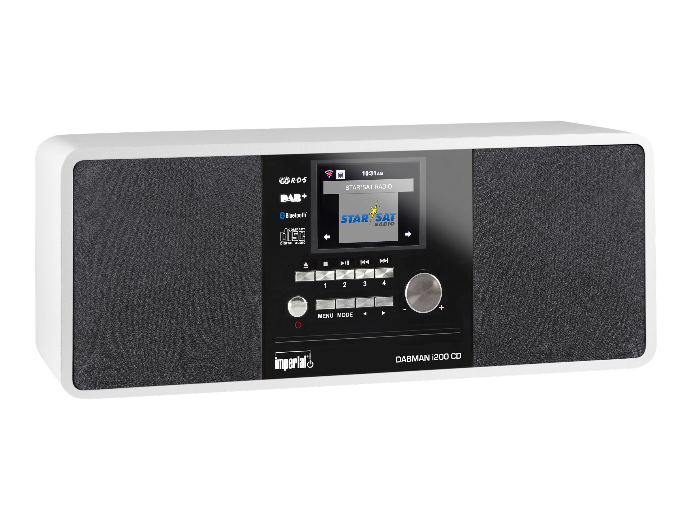 Telestar imperial DABMAN i200 CD - Audiosystem
